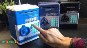 "Электронная <b>копилка</b> ""<b>Сейф</b> банкомат"", с кодовым замком и ..."