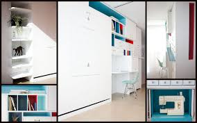 creative murphy desk and bed idea for small house awesome murphy bed office