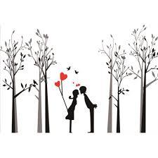 <b>Laeacco</b> Hand Painted Woods Love Testimony Hearts TV ...