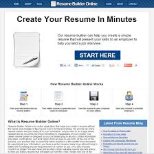 resume builder online exons tk category curriculum vitae