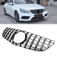 <b>Car Front Grill</b> Grille,GTR Style Chrome Front Grille Compatible with ...