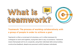the teamwork definition and fostering collaboration at work