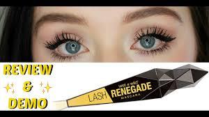 <b>Wet n</b>' <b>Wild Lash Renegade</b> Mascara REVIEW & DEMO! - YouTube