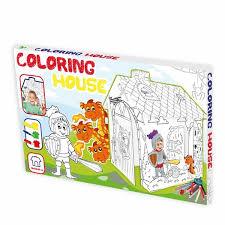 """Игровой <b>картонный домик</b>-<b>раскраска</b> """"Рыцарь""""   Купить с ..."""