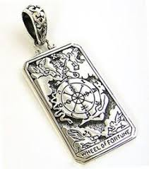 Details over <b>WHEEL OF FORTUNE</b> TAROT CARD DOG TAG ...