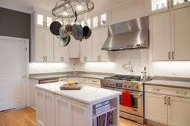ceiling white shaker kitchen cabinets island