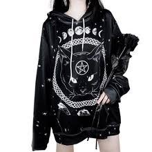 Buy <b>cat gothic</b> hoodie online