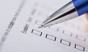myseco updating technical skills pen marking a quiz on paper