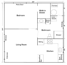 ideas about In Law Suite on Pinterest   House plans  Floor     x mother in law quarters   laundry room   Your Latest House Addition