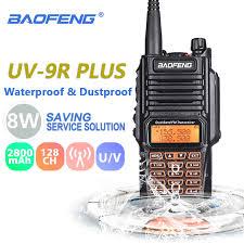 Achat <b>Baofeng UV</b> 9R Plus <b>8</b> W 2800 MAh Talkie walkie UHF VHF ...