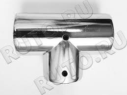 Крепеж для хромированной трубы 25 мм