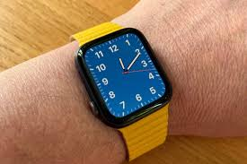 Apple Watch Meyer Lemon Leather Loop Band Review - Kirkville
