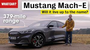 <b>Ford Mustang</b> Mach-E Review 2021   What Car?