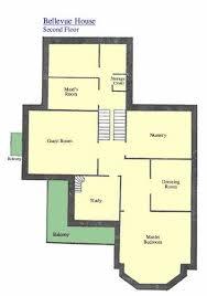 Luxury house floor plans  Bellevue house second floor Parks