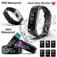 Bluetooth <b>Smart Bracelet</b> Fitbit Style <b>Heart</b> Rate Monitor Watch ...