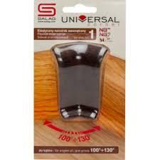 <b>Угол внутренний</b> Salag <b>эластичный</b> 56 мм венге купить в ...
