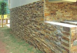 tembok batu alam minimalis: 30 dinding batu alam minimalis paling keren rumah minimalis