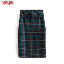 <b>green</b> plaid skirt