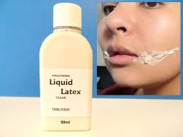 50ml clear liquid latex zombie flesh scar make up fancy dress new