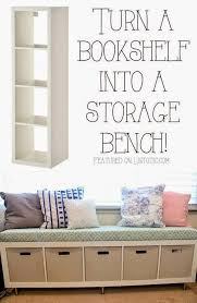 helping kids grow up how to turn a bookshelf into a storage bench adorable office library furniture full size