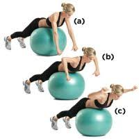 Image result for stability ball superman