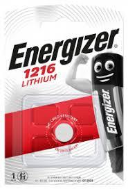 <b>Батарейка Energizer Lithium</b> тип <b>CR1216</b> напряжение: 3V 1 шт ...