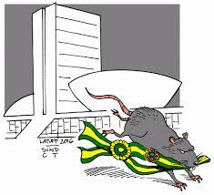 Resultado de imagem para ratos e a faixa presidencial
