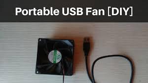[DIY] Portable <b>USB Fan</b> / <b>Laptop Cooler</b> | r0h4n tech - YouTube