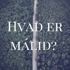 Hvað er málið?