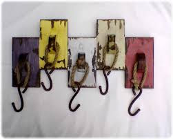 ideas wall shelf hooks: decorationsunique coat hooks shabby chic pine shelf in yellow color idea diy rustic wall