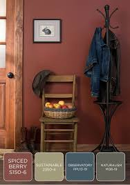 room paint red: long walks in the woods in late autumn show an abundance of chocolate brown mushroom gray spiced orange and wine red take inspiration from the outdoors