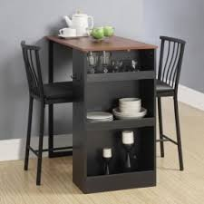 table for kitchen: kitchen table  pc counter height bar set table chairs home pub cocktail kitchen storage small