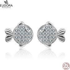 <b>100</b>% <b>Real Genuine 925</b> Sterling Earring Jewelry AAA Shinny CZ ...