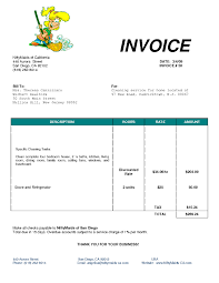 sample cleaning invoice invoice template ideas cleaning service invoice template seven sample cleaning invoice house