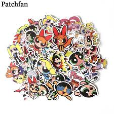 <b>Patchfan</b> 36pcs cute cartoon funny stickers DIY scrapbooking ...