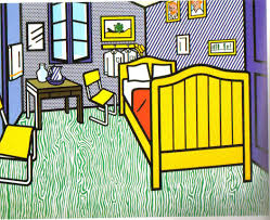 gogh bedroom painting vincents