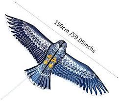 <b>150cm</b> Kites <b>Huge</b> Eagle Kite for Kids and Adults <b>Lifelike</b> Design ...