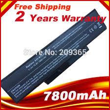 <b>7800mAh battery for Asus</b> A32 K72 A32 N71 K72DR K72 K72D ...