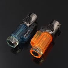 <b>Gas</b> Blue <b>Flame Torch Turbo Lighter</b> Spray Gun Electronic <b>Lighter</b> ...