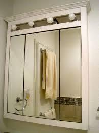 Recessed Bathroom Mirror Cabinets Mirrored Recessed Medicine Cabinet Designer Medicine Cabinets