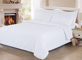 <b>Комплект постельного белья</b> Cleo <b>Stripe</b> Satin, белый, 2 ...