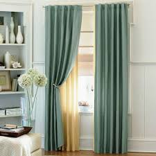 curtain ideas white living cool light blue curtains with sheer curtain