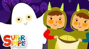 Knock Knock, <b>Trick</b> Or Treat?   <b>Halloween</b> Song   Super Simple ...
