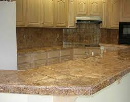 Granite Tile Kitchen Granite Tile Counter Tops The Same Look As Granite But Waaay