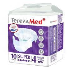 <b>Подгузники</b> для взрослых <b>TerezaMed</b> Super (4) <b>Extra Large</b> (10 шт ...