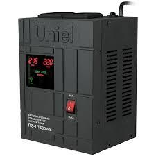 <b>Стабилизатор</b> напряжения <b>Uniel RS</b>-<b>1</b>/<b>1500WS</b> - характеристики ...