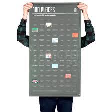 Плакат <b>100</b> мест, которые нужно посетить в жизни (<b>DOIY</b>) купить ...