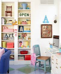 white is the color of choice in the shabby chic home office design alison chic office interior design