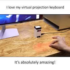 Happily Ever Hustle - <b>Bluetooth Virtual</b> Projection <b>Laser Keyboard</b> ...