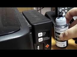 Сброс памперса Epson L110 L210 L300 L350 L355 - YouTube